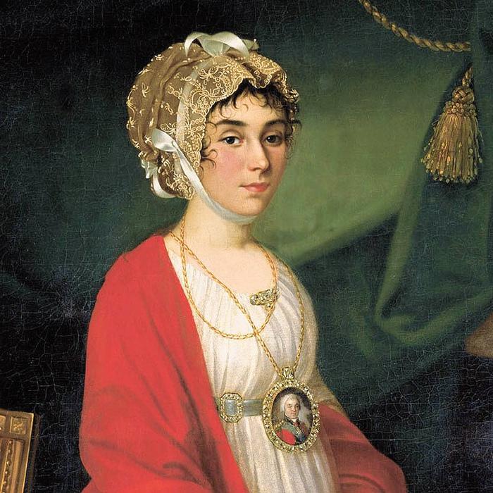 Портрет графини Шереметевой от Н.И.Аргунова.