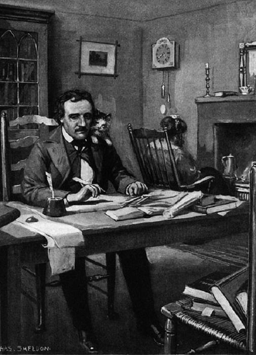 Эдгар Аллан По проявил большой интерес к болезни короля
